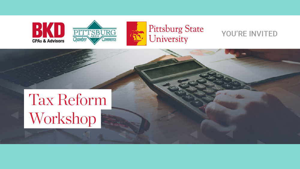 Chamber, BKD & PSU to Host Tax Workshop